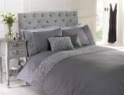 bedroom cute and chic ruffle bedding for comfort bedroom idea