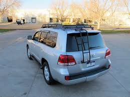 roof rack for toyota sequoia gobi toyota land cruiser 200 series stealth roof rack gtlc200stl