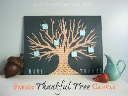 diy fabric thankful tree canvas u create