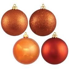 orange ornaments wayfair