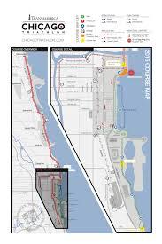 Chicago Marathon Map Runtri August 2015