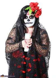 sugar skull costume skull day of the dead costume