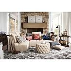 safavieh nantucket collection barcelona shag rugs in silver white
