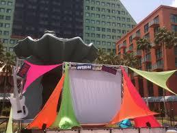 80 u2032s spandex backdrop orlando corporate event decor design
