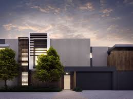 cotery townhouse contemporary facade design home pinterest