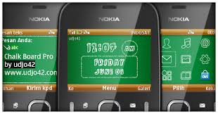udjo42 themes for nokia c3 udjo42 high quality nokia themes nokia c3 theme chalk board