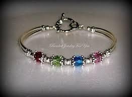 mothers bracelets with birthstones mothers bracelet mothers day gift custom bracelets beaded