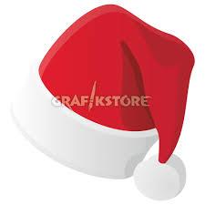 illustrationen weihnachtsmütze als vektorgrafik