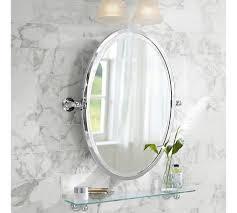 oval pivot bathroom mirror in the half bath i like an oval mirror or recessed medicine cabinet