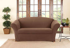 Sofa Seat Cushion Slipcovers 2 Piece Sofa Slipcover Ebay