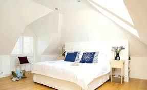 cottage attic bedroom ideas smooth white wardrobe comfy dark blue