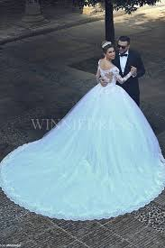 ballgown wedding dresses shop discount gorgeous sleeve lace gown wedding dress