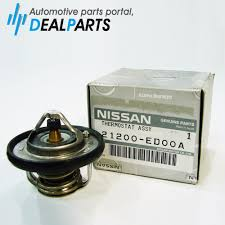 nissan genuine accessories india genuine coolant thermostat 21200 ed00a for 09 14 cube engine ebay