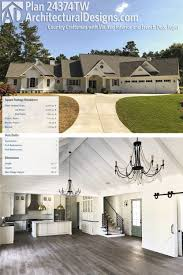 country craftsman house plans plan 24374tw country craftsman with vaulted interior and 4