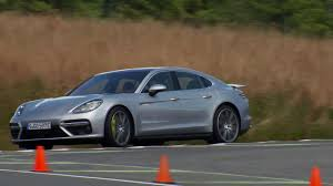 Porsche Panamera Turbo S E Hybrid Gt Silver Metallic Driving Video