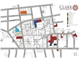Clark College Map E Box University Police Clark University