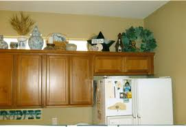 Kitchen Cabinet Decorating Ideas Kitchen Above Cabinet Decorating Ideas Replace Bathroom Corner