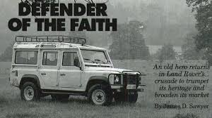 land rover 1992 this week in 1992 land rover defender 110 autoweek