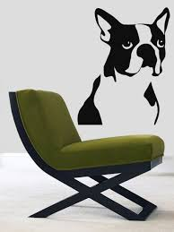 popular boston wall decal buy cheap boston wall decal lots from wall decals vinyl decal sticker art murals decor pets dog boston terrier china