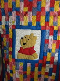 Winnie The Pooh Bedroom Set Quilt Pattern Pooh And Friends Uses Winnie The Pooh Printed
