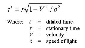 time dilation worked examples