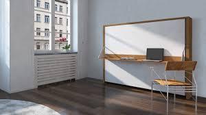 bureau escamotable lits donny 160 x 200 avec bureau pliable un lit moderne pour petits