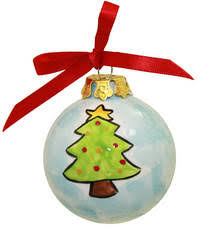 personalized ceramic tree ornaments gift for family friends