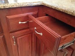 corner kitchen cabinet hinges corner kitchen drawers will not open with hardware installed