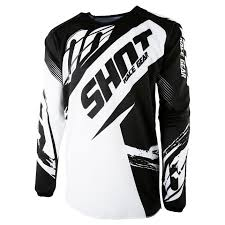 shot motocross gear camiseta de motocross shot devo fast negro niño 2017 99768 negro