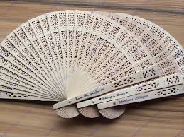paper fans bulk personalised paper fans personalised weeding fans 0 80 silk