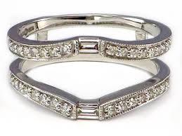 Wedding Ring Wraps by Wedding Rings Wedding Ring Inserts Wraps Engagement Ring Wraps
