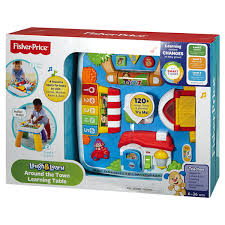 fisher price around the town learning table fisher price laugh learn around the town learning table meijer com