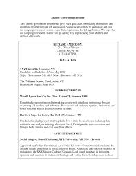 Dishwasher Description For Resume Cover Letter Federal Government Resume Samples Federal Gov Resume