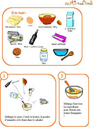 dessin recette de cuisine imprimer la recette des la galette des rois