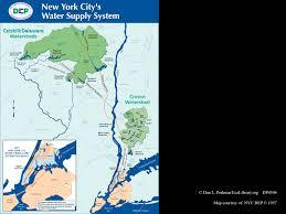 Map New York City New York City Water Supply Map New York Map