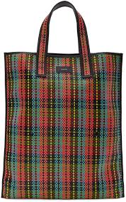 paul smith bags online paul smith multicolor woven tartan tote