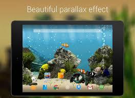 arriere plan bureau animé aquarium fond d écran animé 1 6 1 télécharger l apk pour android