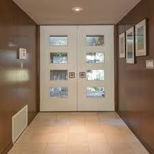 double mid century modern front doors u2026 pinteres u2026