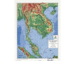 Physical Map Of Southwest Asia by Maps Of Thailand Detailed Map Of Thailand In English Tourist
