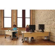 Wire Computer Desk Truemodern Ready Table Wire Hider Kit 1738jc