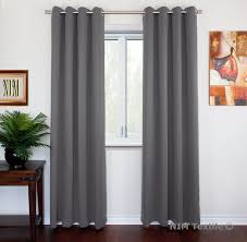 nim textile grommet curtains thermal insulated blackout drapes