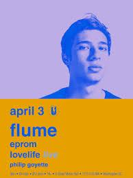 flume u2013 tickets u2013 u street music hall u2013 washington dc u2013 april 3rd
