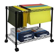 Rolling Metal Cabinet Oceanstar Design Portable 1 Tier Metal Rolling File Cart U0026 Reviews