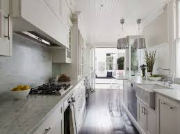 cabinet lighting galley kitchen lovely galley style kitchen galley style kitchen white