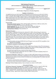 Sample Java Developer Resume by Database Programmer Resume Free Resume Example And Writing Download