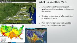 Current Weather Map Warm Up Write 10 Things You Notice About The Weather Map Yc