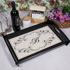 monogrammed serving platters personalized serving trays personalized platters gifts for you now