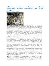 lm2500 assessment vacuum tube cogeneration