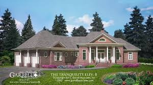 House Lans by Tranquility Elevation B House Plan House Plans By Garrell