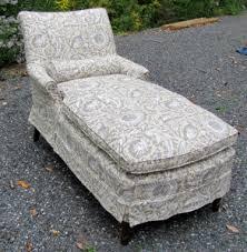 Chaise Lounge Slipcover Slipcovered Furniture Debbiedoesdivans